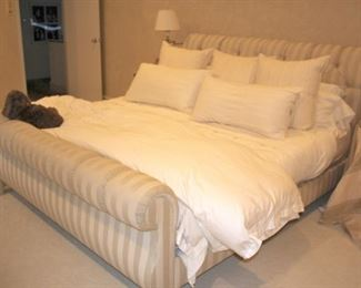 Upholstered Sleigh Bed - Big!