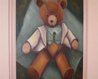 Teddy Bear Art