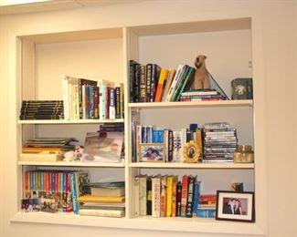 Books and Bric-A-Brac