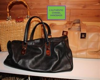 2 Authentic Chanel Handbags