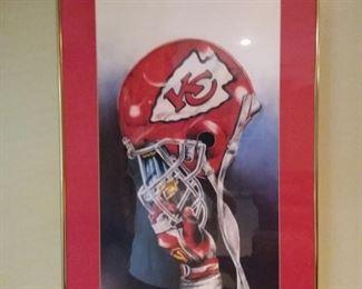 KC Chief's Wall Art