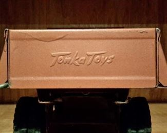 "Antique Tonka Toy ""Hydraulic Dump"" truck in excellent condition and dump mechanism works!"