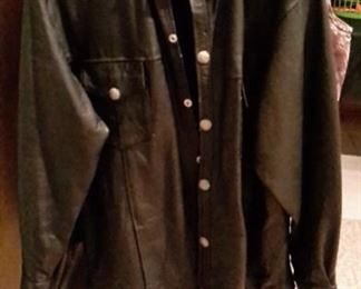 Unik leather jacket, size XL