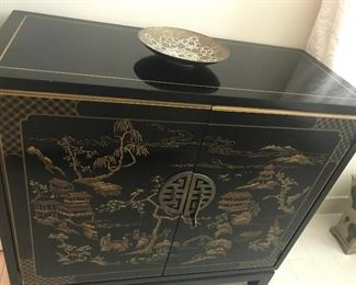 CHINESE LACQUER CHEST