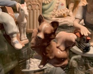 Lladro dog figurine