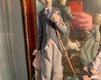 Lladro figurine Charlie Chaplin