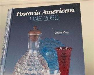 Fostoria glassware collection and reference book