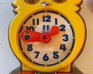 Tomy owl toy Answer Clock