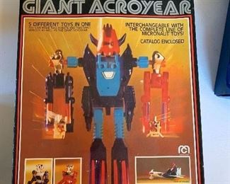 Giant Acroyear Micronauts toy
