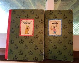 Vintage Walt Disney books