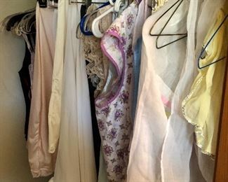 Vintage lingerie and aprons