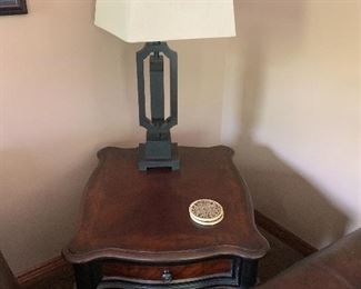 End table by Hooker