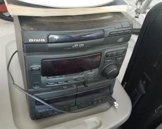 Aiwa compact stereo