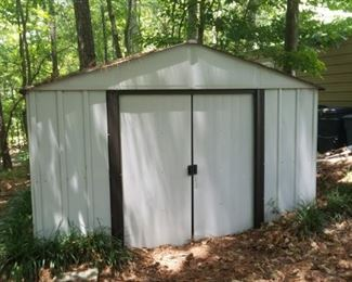 Metal Shed. You move to your location. Sliding doors. Presale Price $175