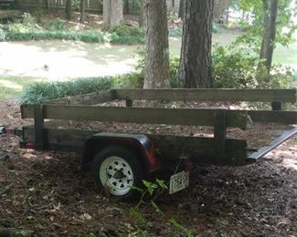 Flatbed Trailer Presale Price $200