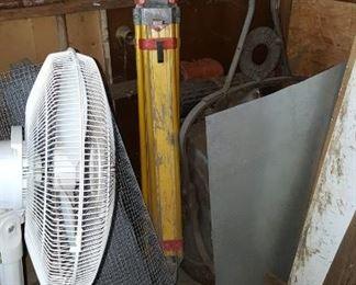 Fan, Grass Roller