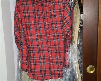 Men's Clothing Larger Sizes