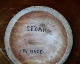 Cedar Bowl R. Hazel