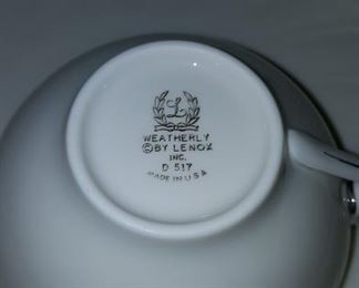 Weatherly China By Lenox