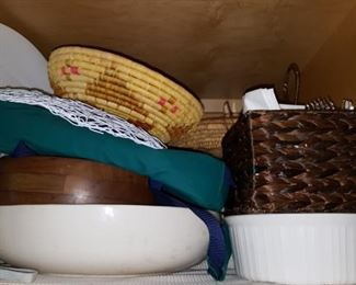 Baskets & More Entertainment Ware