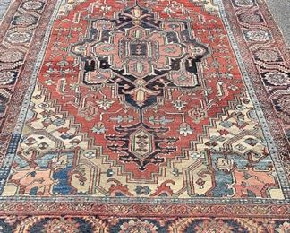 A small sampling of items in our exciting Estate Antiques Auction, August 16th, starting at 3PM!  |  Lot 239: A Heriz room-size carpet, 11ft 11in x 9ft.