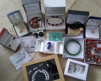 Jewelry in Boxes