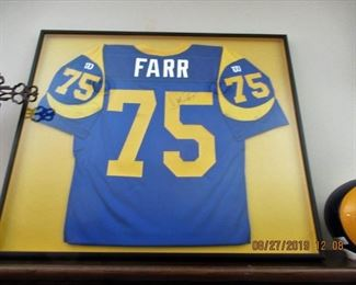 D'MARCO FARR, WON SUPERBOWL IN 1999, PLAYED FOR LA- SAINT LOUIS RAMS FROM 1994 TO 2000