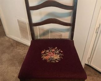 Gorgeous needlepoint chair