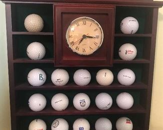Golf ball collection