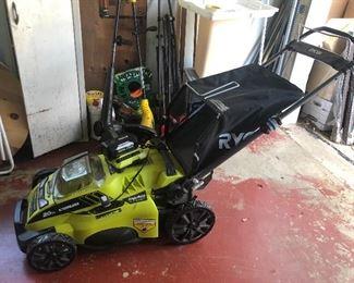 Ryobi lawnmower