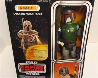 RARE KENNER BOBA FETT LARGE SIZE ACTION FIGURE