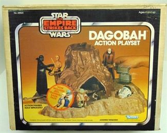 SW ESB DAGOBAH KENNER ACTION PLAYSET MIB