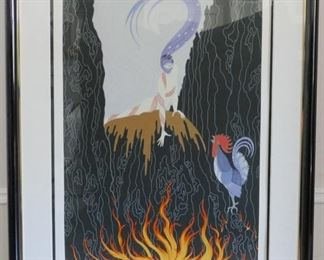 Erte French Rooster print no.260/300