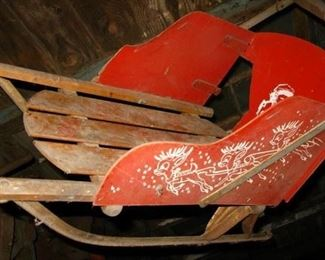 old sled