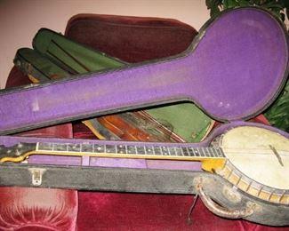 Vega tenor 4 string banjo  BUY IT NOW $ 600.00