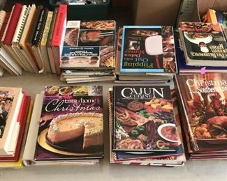 More cookbooks.
