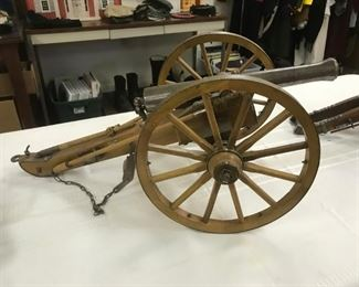 Working BLACK POWDER Cannon