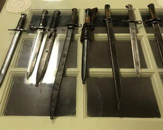 Knives Bayonets Swords
