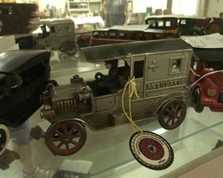 Rare Cast Iron Ambulance