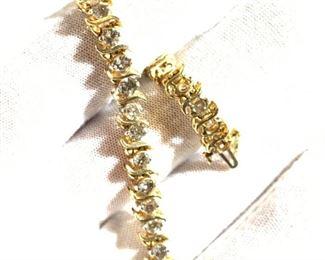 6 carat diamond tennis bracelet