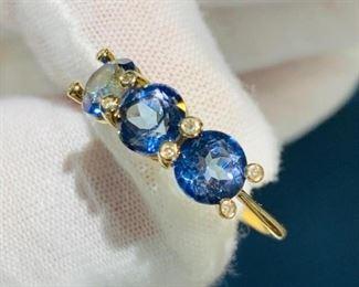 Bokara diamond ring