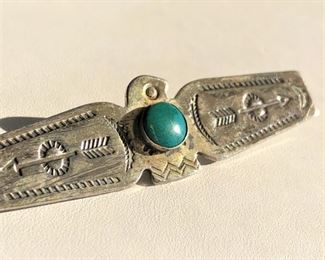 Native American handwrought pin