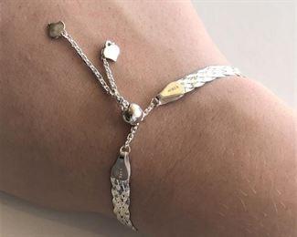 Italian designer sterling bracelet