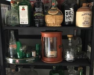Tons of bar glassware