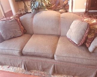gorgeous like new upholstered sofa from Stomas