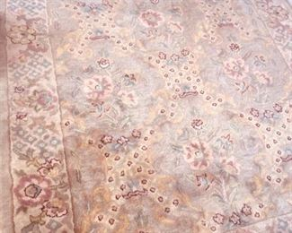 we have several hand knotted fine rugs