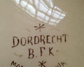 """Belgium """"Dordrecht""""  transferware"""
