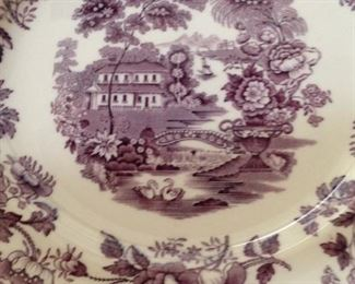 English Royal Staffordshire Dinnerware