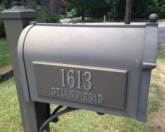 Look for the address on the mailbox; please respect the neighbors as you park.