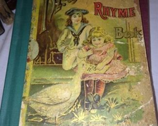 "Very old ""Mother Goose Rhyme Book"""